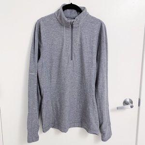 LULULEMON | Gray Half ZIp Size L